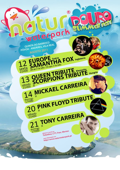 Douro Summer Fest 2011 Cartaz